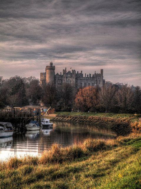 Arundel Scenic HDR, Sussex, UK by PhilnCaz, via Flickr