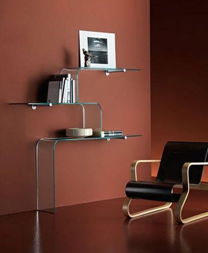 Superior Original Design Glass Wall Shelf   MENSOLE By L.Gerussi U0026 C.