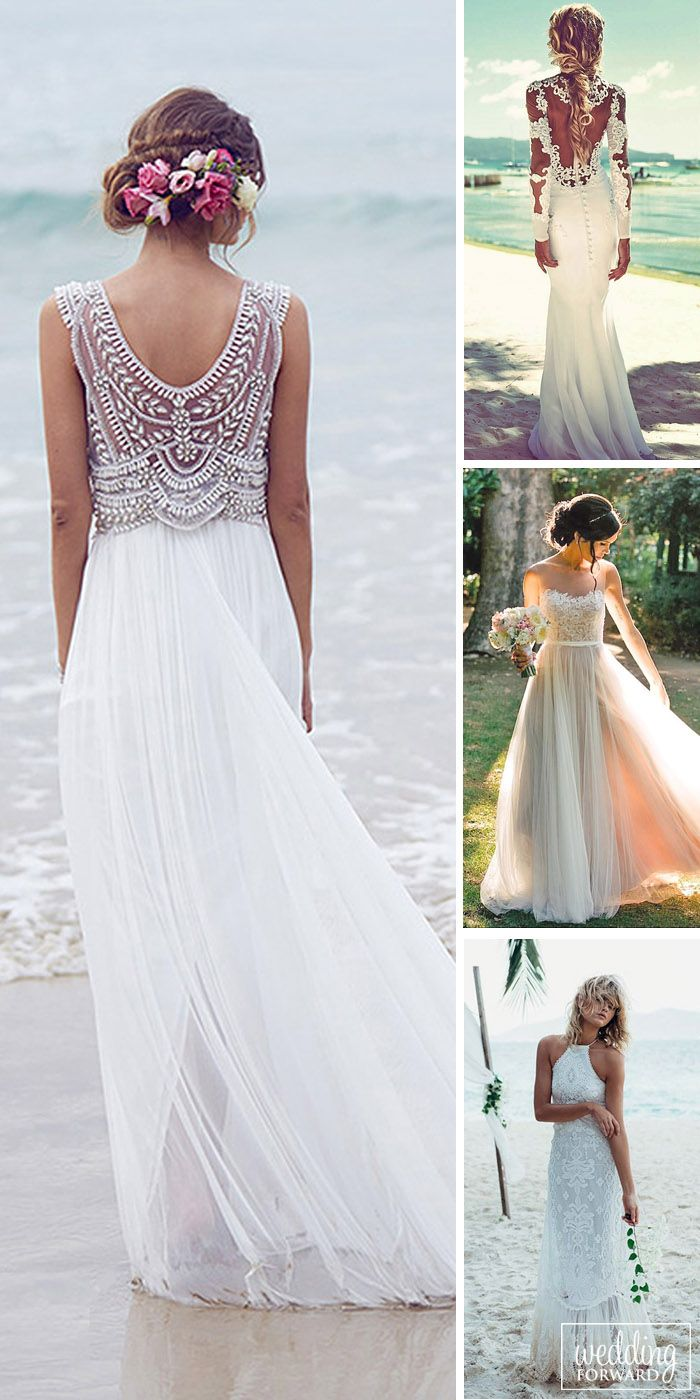 24 Beach Wedding Dresses Of Your Dream Choose Dress From Light Fabrics