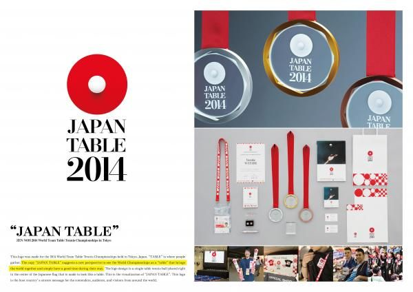 JAPAN TABLE 2014, Dentsu Tokyo, ORGANIZING COMMITTEE FOR THE 2014 WORLD TABLE TENNIS CHAMPIONSHIPS IN TOKYO, Print, Outdoor, Ads