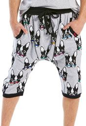 Mens Frenchie Drop Crotch Short