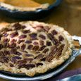 Pecan Pie    From Country Living  This recipe is from Georgia Cooking in an Oklahoma Kitchen: Recipes from My Family to Yours by Trisha Yearwood.