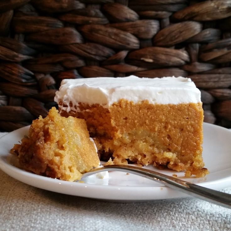 Pumpkin Crunch - The best Thanksgiving Dessert Ever