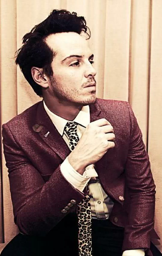 Andrew Scott - I can't help it, I'm not a John or a Sherlock fangirl... I'm a Moriarty fangirl!