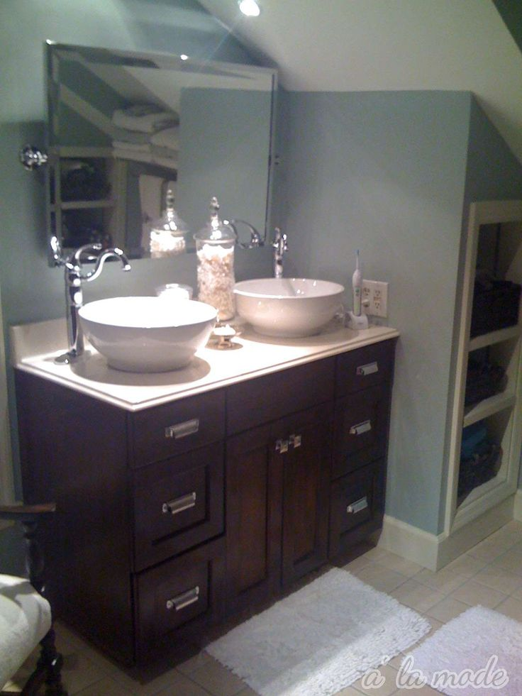 Favored White Like Porcelain Glass Vanity Top With 2 Bowl