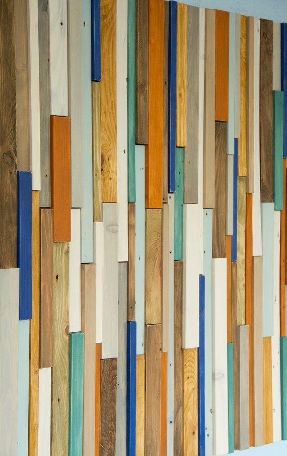Bois récupéré wall Art mur industriel de par ArtGlamourSligo
