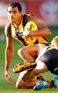 Cyril Rioli was a key player in Hawthorn's demolition of Richmond. (Round 6, 2014)