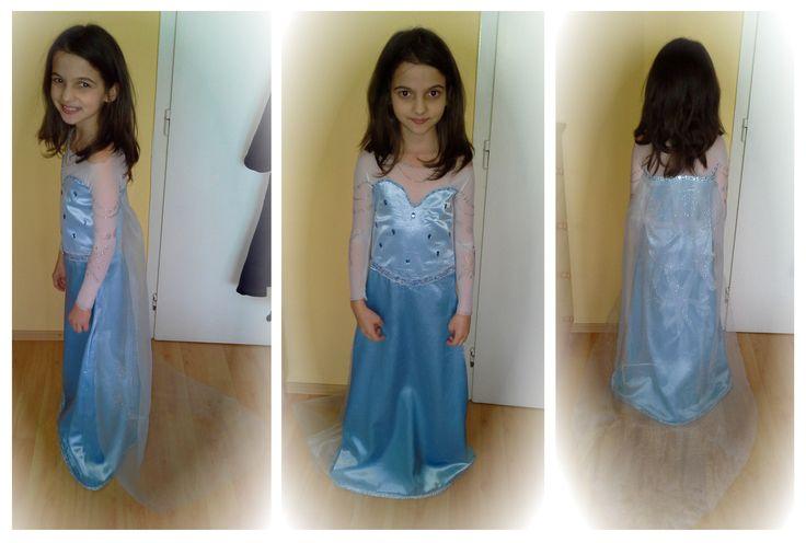 Froozen Elsa costume