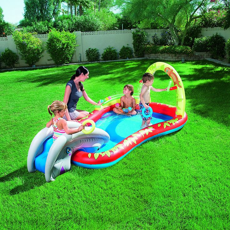 Bestway 110 x 68 x 40-inch Interactive Play Pool: Amazon.co.uk: Toys & Games