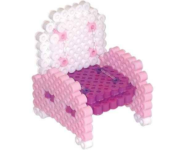 3D Chair - perler beads