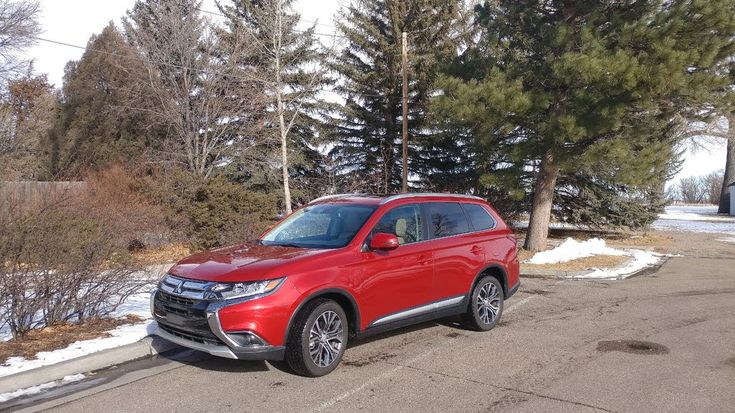 The 2018 Mitsubishi Outlander is a well-designed three-row family crossover