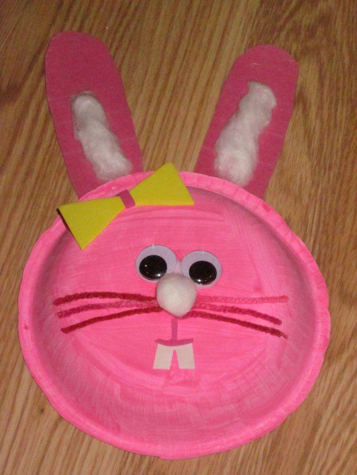 rabbit crafts   This & That Toddler Crafts   Pinterest