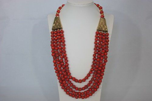 Multi Strand Necklace/Beaded Necklace/statement necklace $45