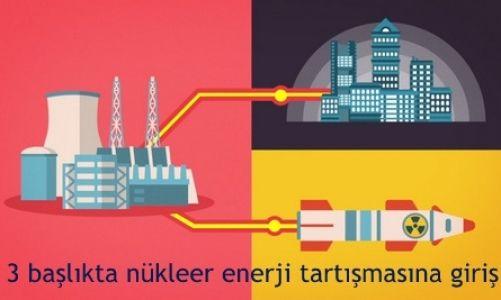 Üç başlıkta nükleer enerji tartışmasına giriş