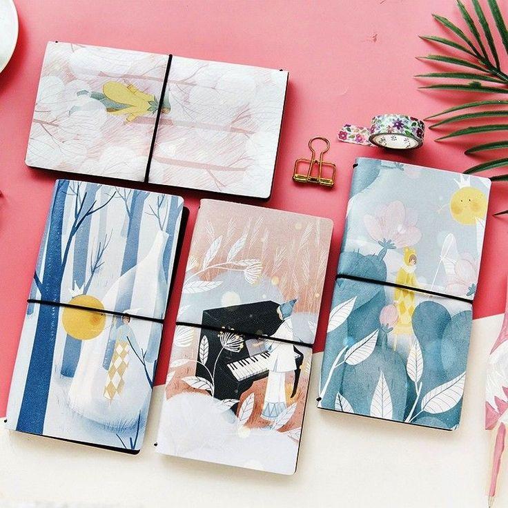 """Whisper Girl"" 1pc Any Year Planner Agenda Travel Notebook Study Diary Journal #Unbranded"