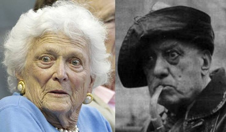 Did you know Barbara Bush is allegedly the 'moon' child of Aleister Crowley? This information may at first seem ridiculous, but the source is Aleister Crowley's own diary, and is substantiated by historical facts.