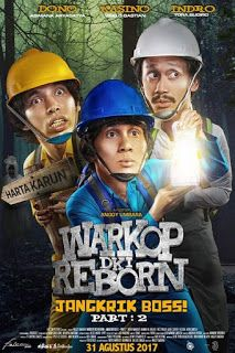 Download Film Warkop DKI Reborn: Jangkrik Boss! Part 2 (2017) http://www.gratisinter.net/2017/09/download-film-warkop-dki-reborn-part-2.html #WarkopDKIReborn #Film #Download #Movie #New #Update