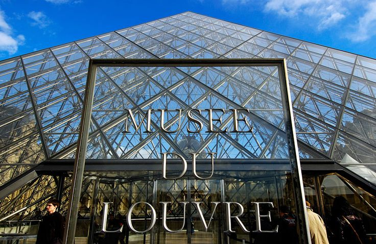 museum louvre pyramid - Google Search