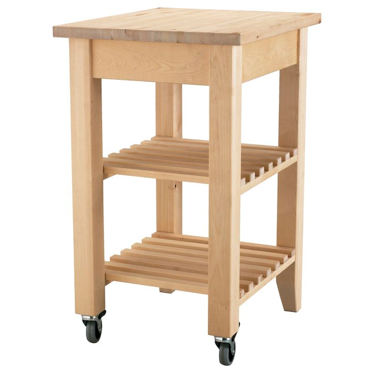 BEKVÄM Kitchen cart - IKEA $59.99 (raise the top shelf to accommodate for Keurig.)