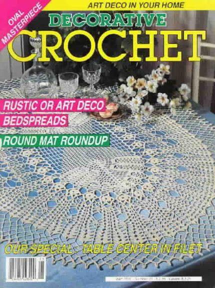 Decorative Crochet Magazines n° 21 - Rosio Llamas - Picasa Web Albums
