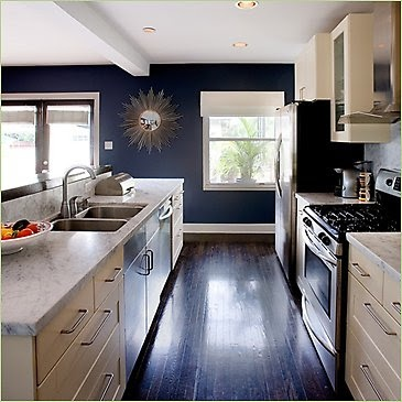 kitchen paint color? i think it would go really well with stainless steel appliances!