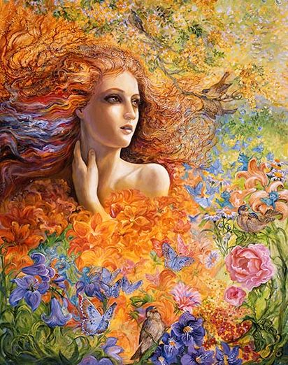 "Flame Witch:  #Flame #Witch ~ ""Summer Breeze,"" by Josephine Wall."