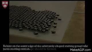 Watch A Thousand Micro Robots Self-Assemble Into Wild Shapes | TechCrunch