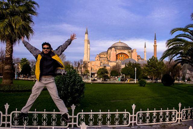 La iglesia-mezquita-museo de Santa Sofía es un referente en Estambul