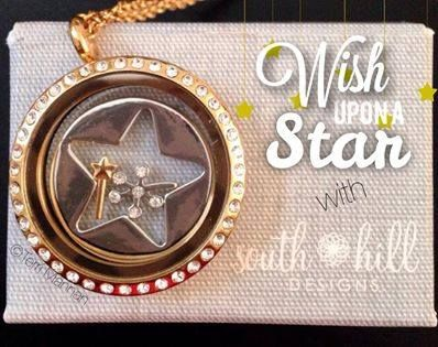 Every 38 minutes, Make-A-Wish ® grants the wish of a child with a life-threatening medical condition.  South Hill Designs will give 60% of the purchase price from these Make-a-Wish charms, coins, and screen directly to the Make-a-Wish foundation!  Shop my South Hill Designs website (www.southhilldesigns.com/charmlockets, under 'shop' then 'make-a-wish') and help make a child's wish come true! www.floatingcharms.net www.facebook.com/floatingcharms.net