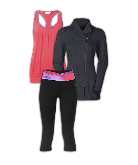 The North Face Women's Yoga Outfit