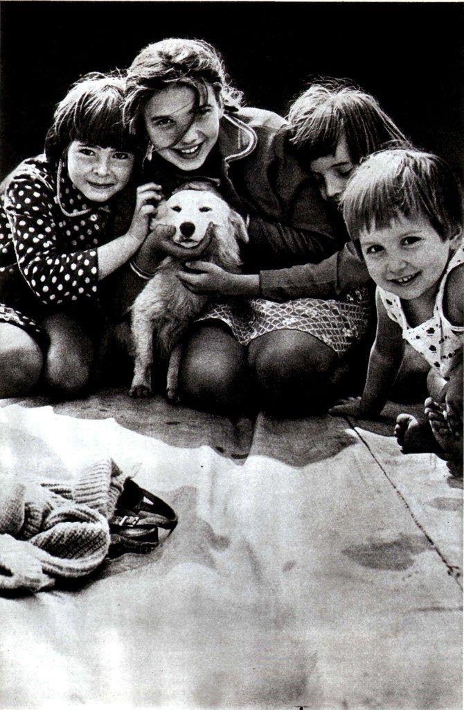 Советские люди в 1984 году