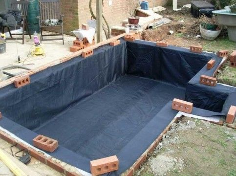 201 best images about water gardens on pinterest for Blue koi pond liner