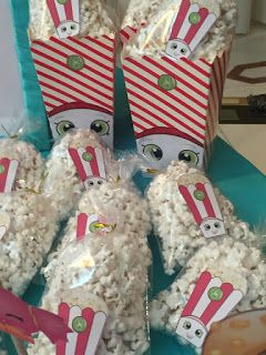 Shopkins Birthday Party Poppy Corn