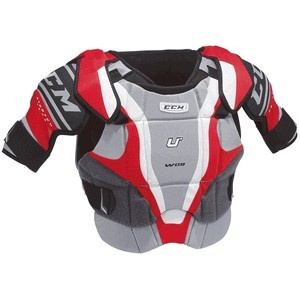 I have tried the CCM U+ W09 Women's Shoulder Pads and my review is mixed. The pro is that some one actually took a hint that women play hockey. They did fit a little bit better than the shoulder pads that are made for men.There was also plenty of chest coverage which is a huge issue that many women face when wearing hockey shoulder pads.