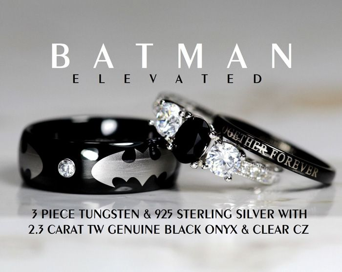 Batman Rings http://geekxgirls.com/article.php?ID=5524