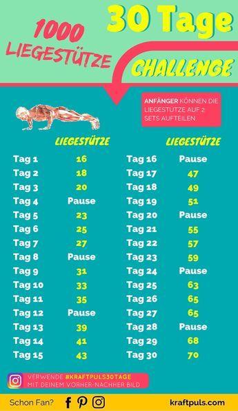 Die beste Fitness Challenge für eine breite Brust. 30-Tage Trainingsplan #workout #übungen #deutsch