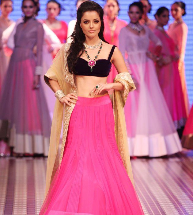 Manish Malhotra Lehenga Collection 2012   galleryhip.com - The Hippest ...