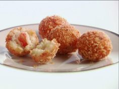 Get Lobster Risotto Arancini Recipe from Food Network