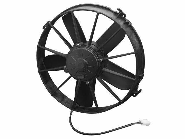 Spal High Performance 12 Puller Fan 5 Paddle Blade 1640 Cfm Spal
