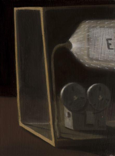The faint | oil on canvas | 24cm x 18cm