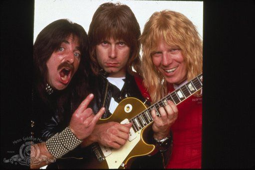 Christopher Guest, Michael McKean, and Harry Shearer in This Is Spinal Tap (1984)