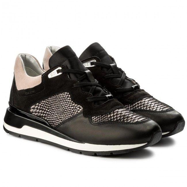 Sneakersy GEOX - D Shahira B D62N1B 085DC C9999 Black