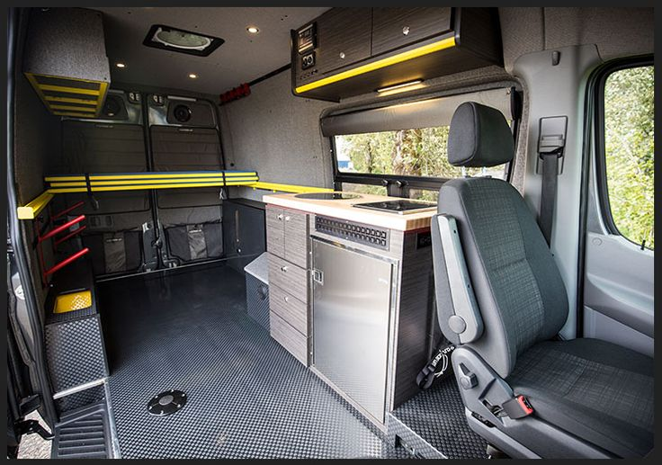 Point Break Sprinter Camping And Surfing Conversion