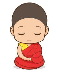 Tibetan Buddhism vector art illustration