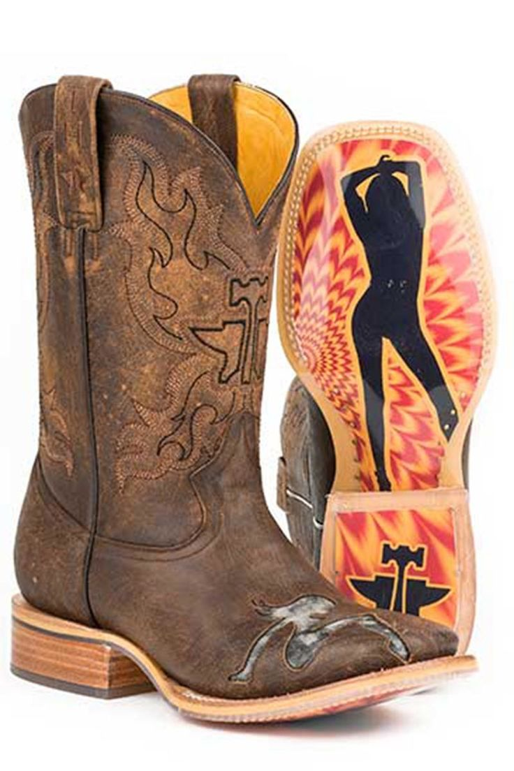 Tin Haul Mudflap Too Men's Cowboy Boots - HeadWest Outfitters