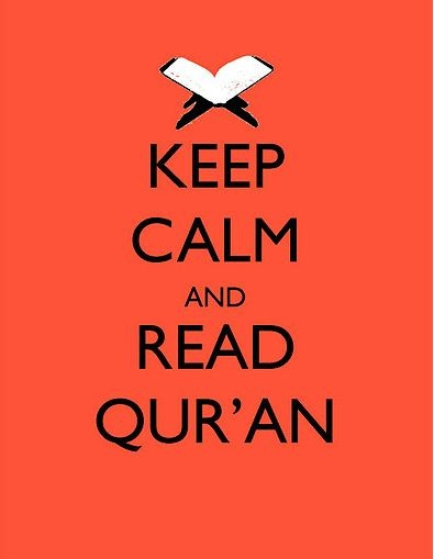 Keep calm and read quran #islam