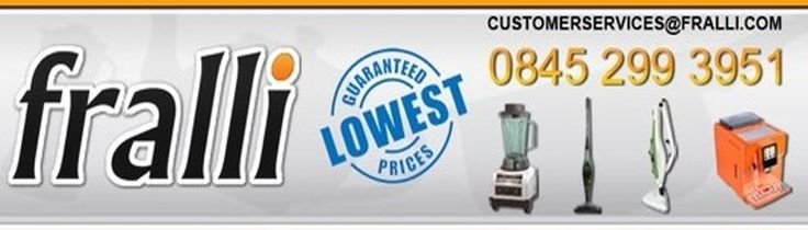 Don't miss out on some amazing Christmas bargains! Low prices guaranteed for all your Kitchen appliances. Steam mops, pressure cookers, Air Fryers, Blenders, Juicers, Coffee machines, soup makers and many more.. all at low low prices. www.fralli.com