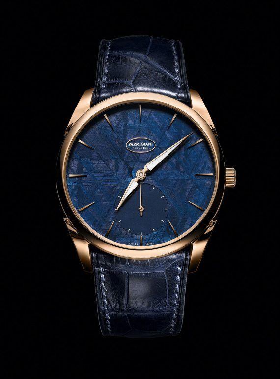 Parmigiani Tonda 1950 Meteorite - blue - gold