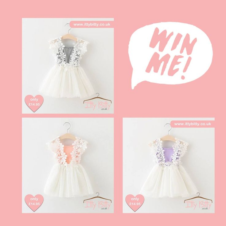 Giveaway Time!! Head to our facebook page to enter: https://www.facebook.com/ittybittyboutiqueuk/ #ittybittyboutique #win #competition #babygirl #fashion #love #wedding #flowergirls #babyboutique