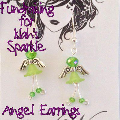 IslahsSparkle Angel Earrings https://www.facebook.com/IslahsSparkle